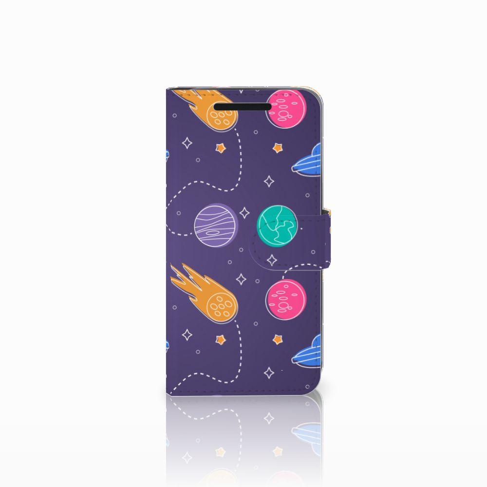 HTC One M9 Wallet Case met Pasjes Space