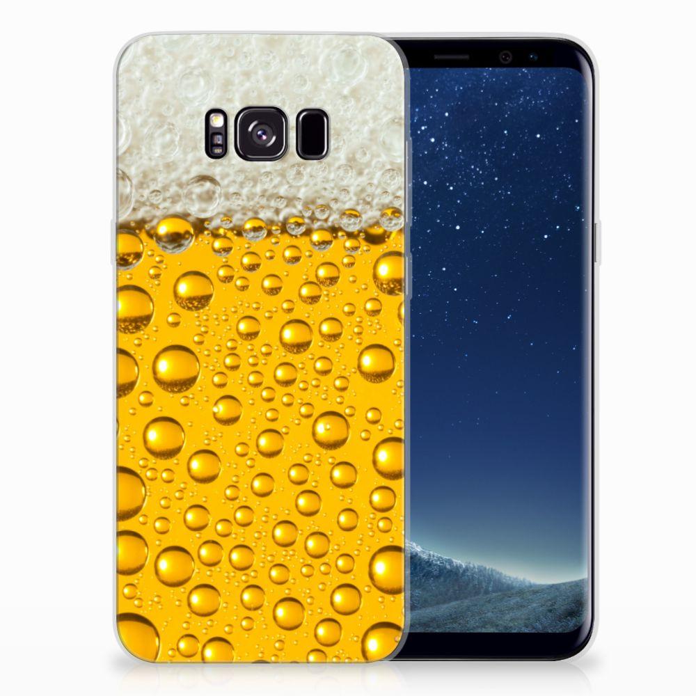 Samsung Galaxy S8 Plus Siliconen Case Bier