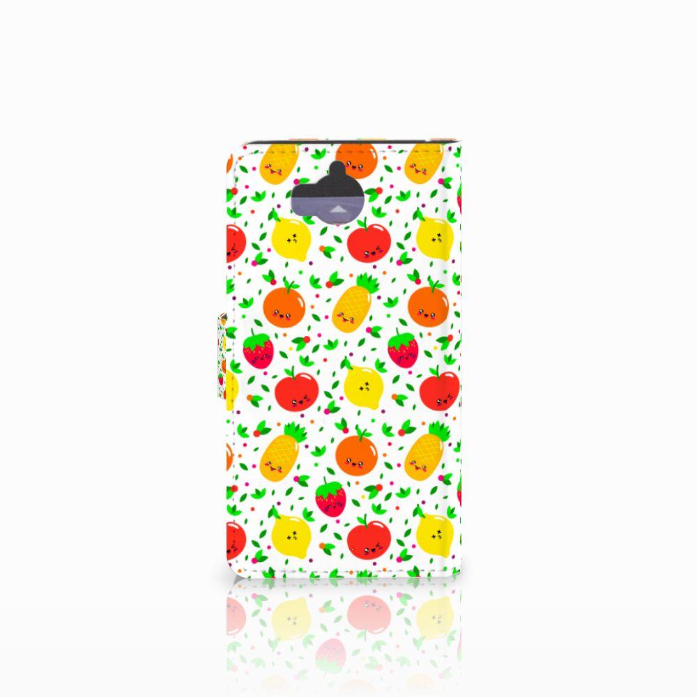 Huawei Y5 | Y6 2017 Book Cover Fruits