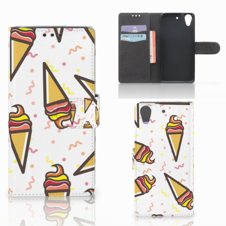 HTC Desire 626 | Desire 626s Book Cover Icecream