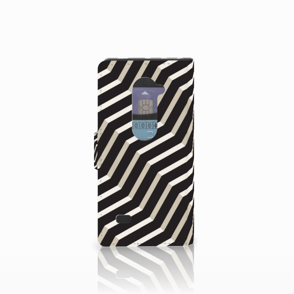 LG Leon 4G Bookcase Illusion