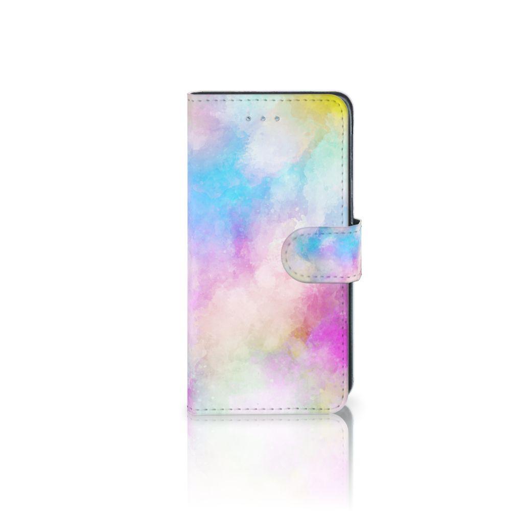 Samsung Galaxy J3 2016 Uniek Boekhoesje Watercolor Light