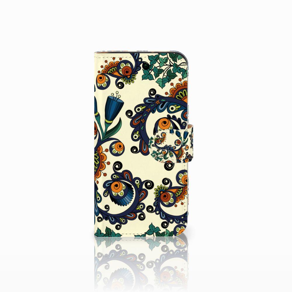 HTC One Mini 2 Boekhoesje Design Barok Flower