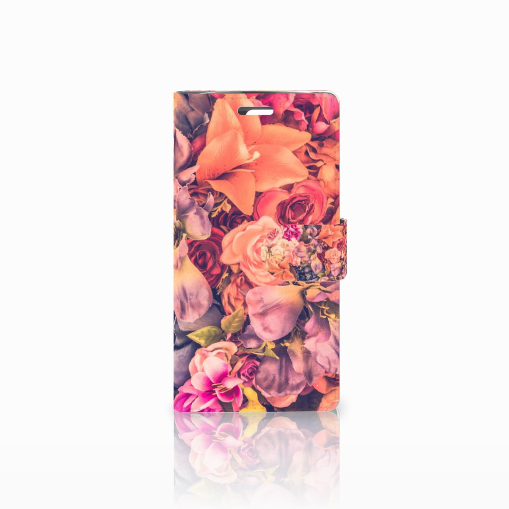 LG K10 2015 Boekhoesje Design Bosje Bloemen