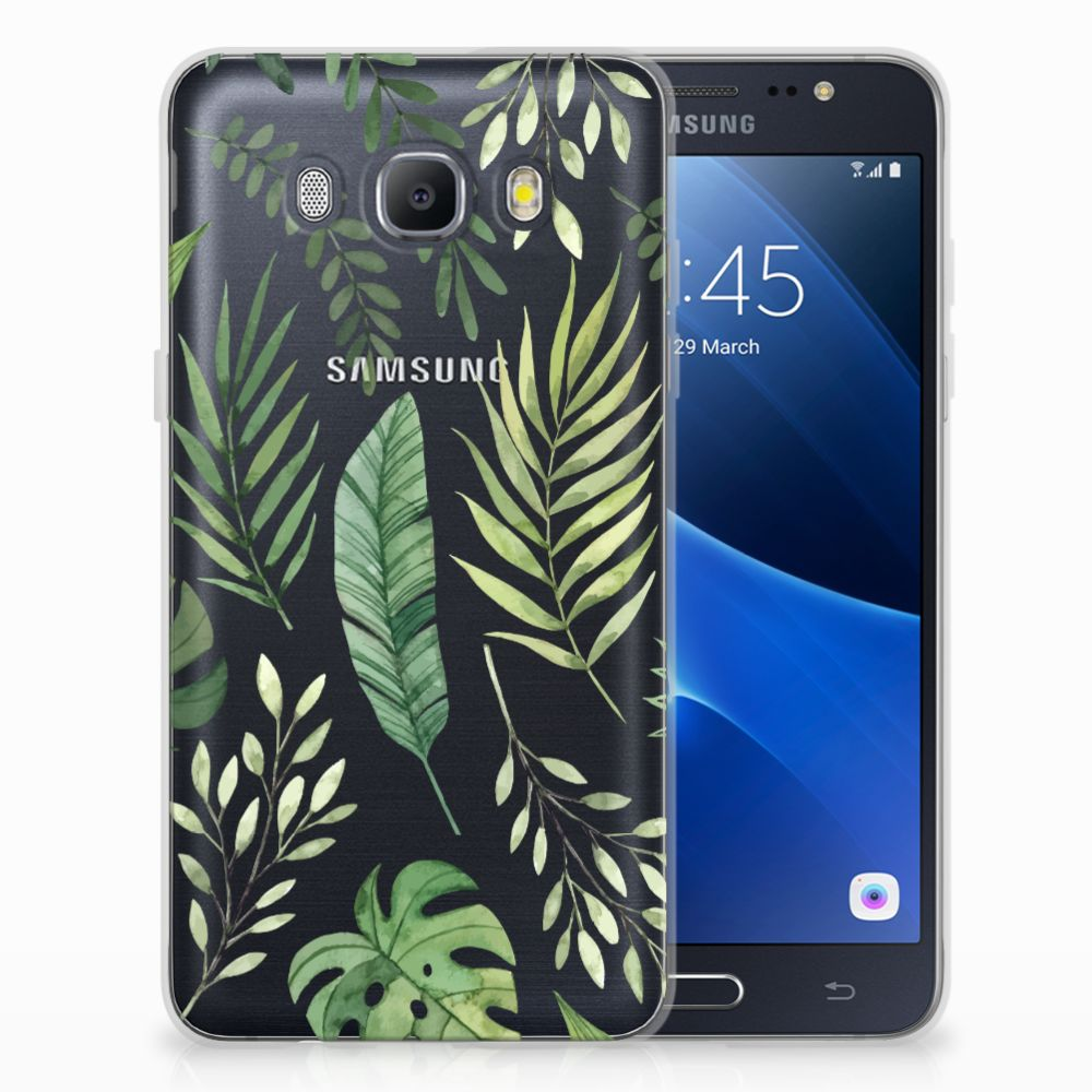 Samsung Galaxy J5 2016 TPU Case Leaves