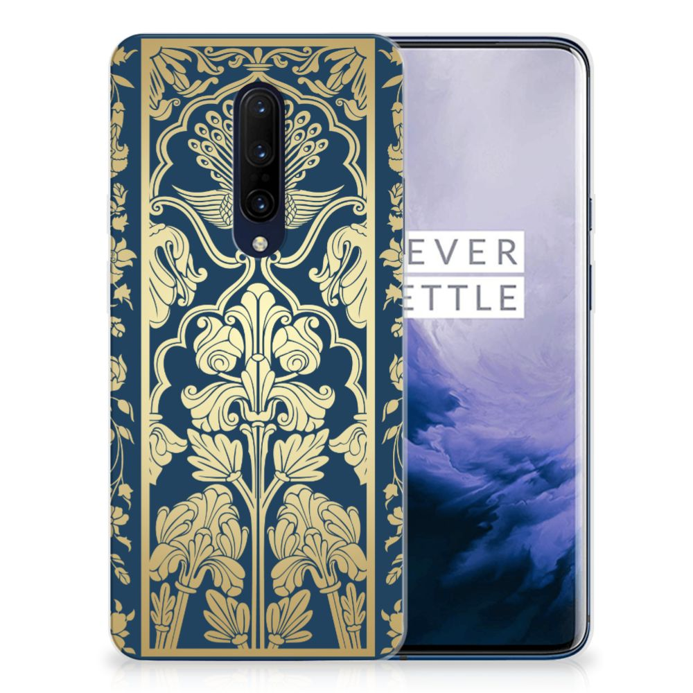 OnePlus 7 Pro TPU Case Golden Flowers