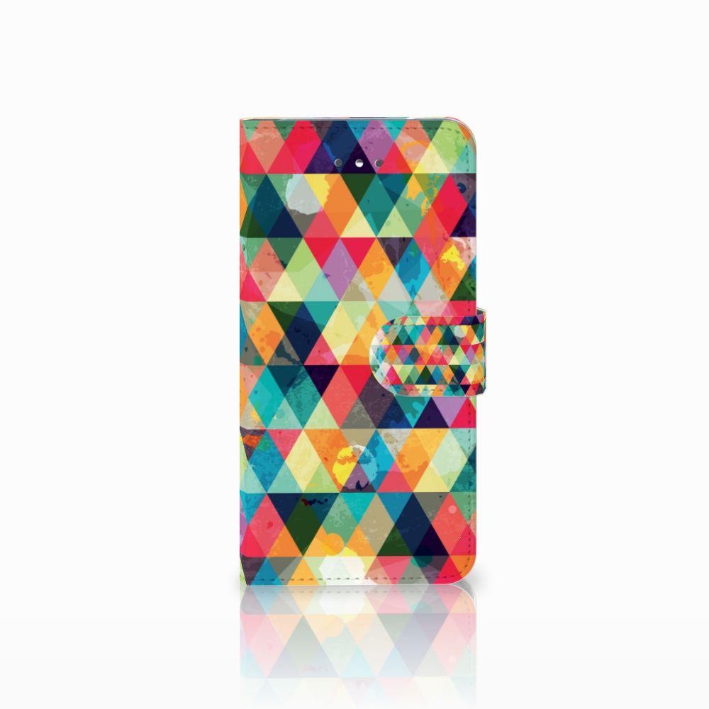 LG Nexus 5X Uniek Boekhoesje Geruit