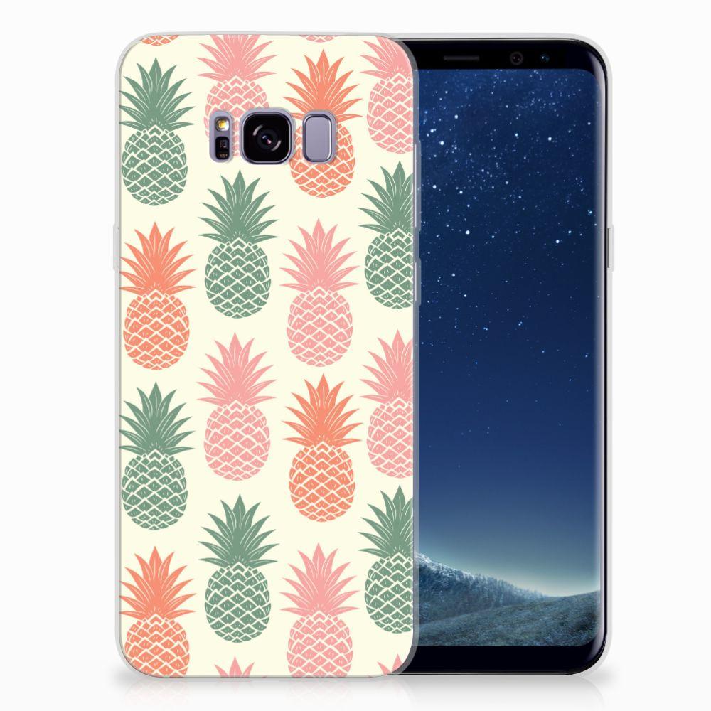 Samsung Galaxy S8 Plus TPU Hoesje Design Ananas