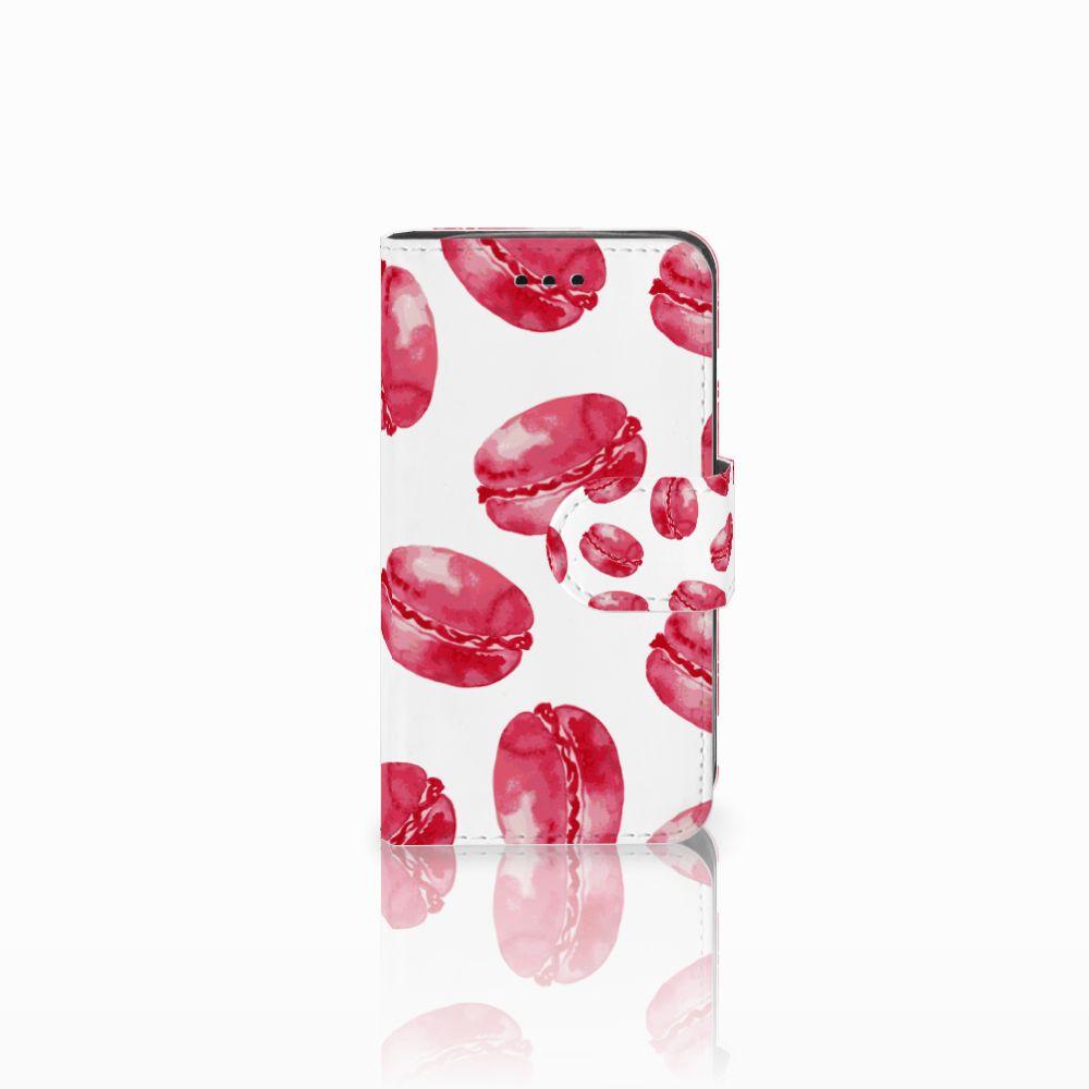 Samsung Galaxy Trend 2 Boekhoesje Design Pink Macarons