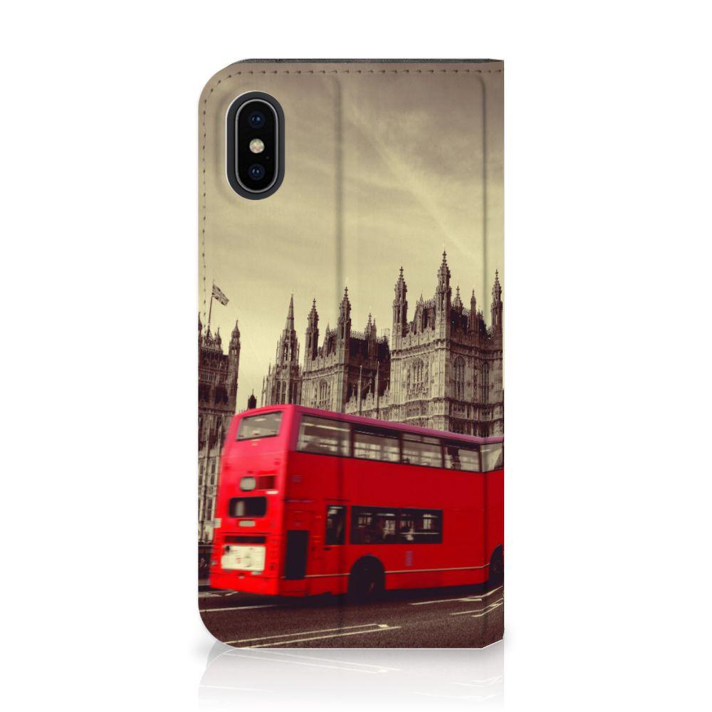 Apple iPhone X | Xs Standcase Hoesje Design Londen