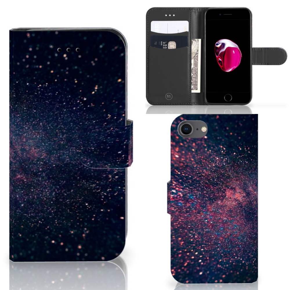 iPhone 7   8   SE (2020) Bookcase Stars