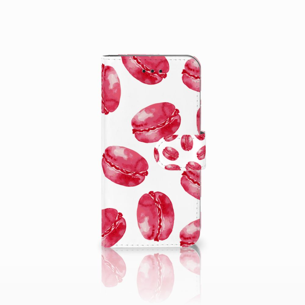 Apple iPhone X | Xs Boekhoesje Design Pink Macarons