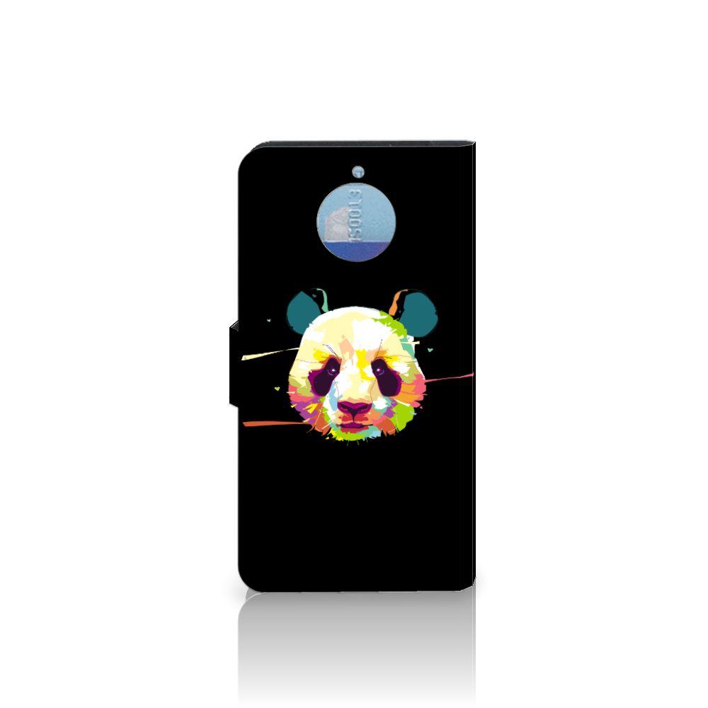 Motorola Moto G5S Plus Leuke Hoesje Panda Color