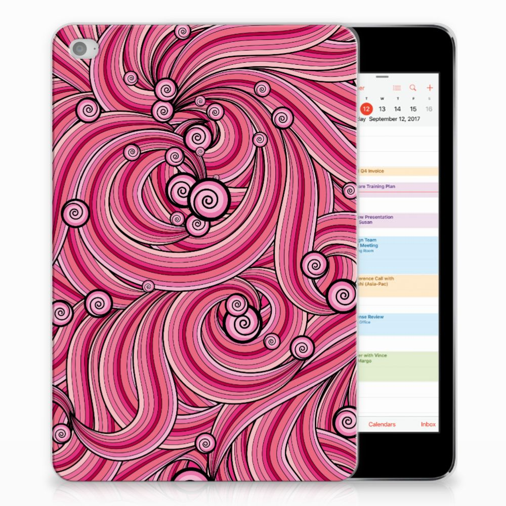 Apple iPad Mini 4 | Mini 5 (2019) Tablethoes Swirl Pink