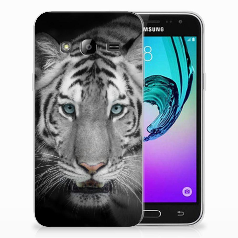 Samsung Galaxy J3 2016 TPU Hoesje Tijger