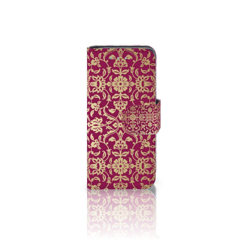 Samsung Galaxy S4 Mini i9190 Boekhoesje Design Barok Pink