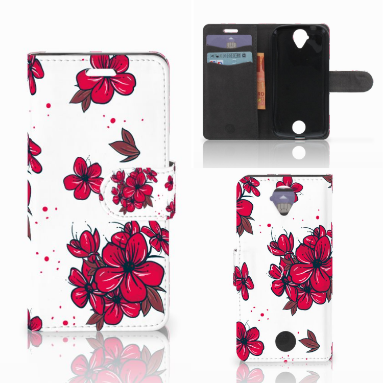 Acer Liquid Z330 Hoesje Blossom Red