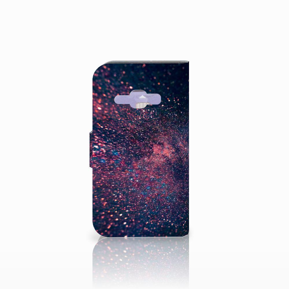 Samsung Galaxy J1 2016 Bookcase Stars