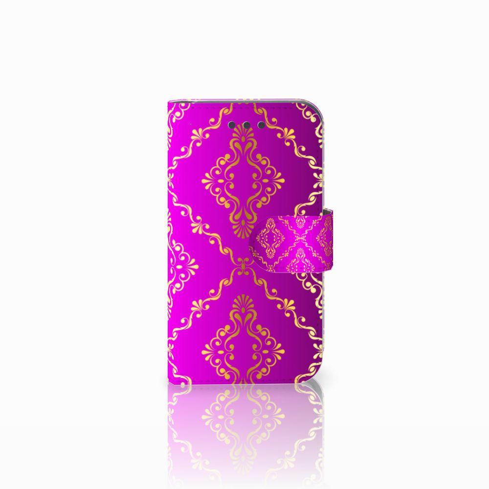 Wallet Case Samsung Galaxy Core 2 Barok Roze
