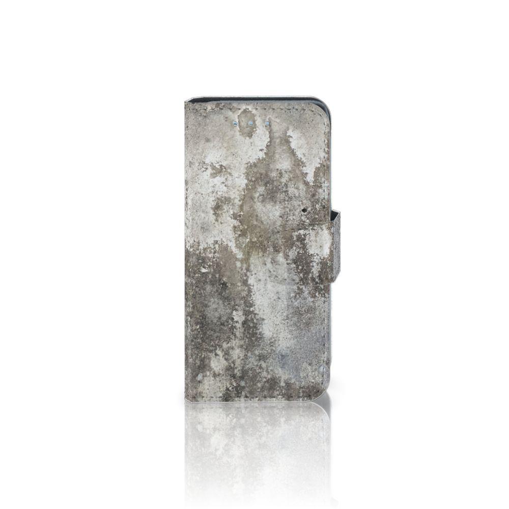 Samsung Galaxy S4 Mini i9190 Boekhoesje Design Beton