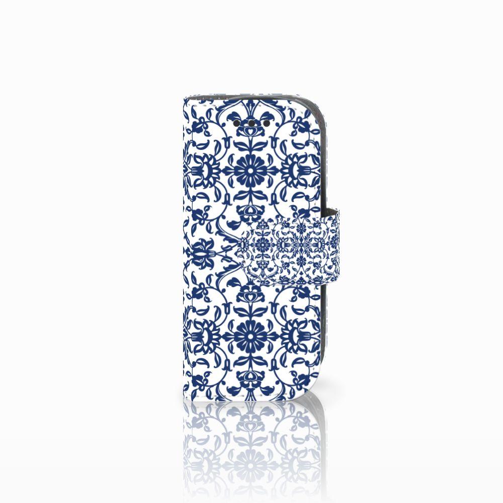 Nokia 3310 (2017) Uniek Boekhoesje Flower Blue