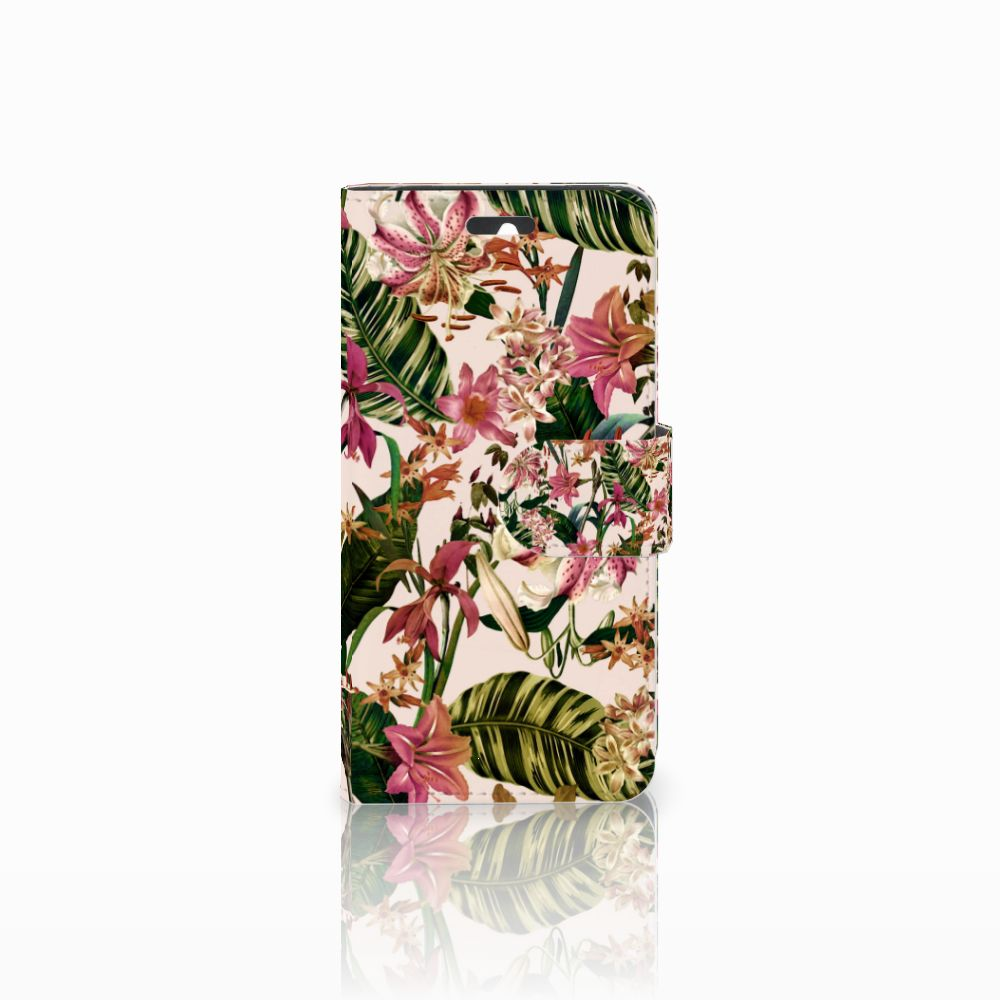 Huawei Ascend Y550 Uniek Boekhoesje Flowers