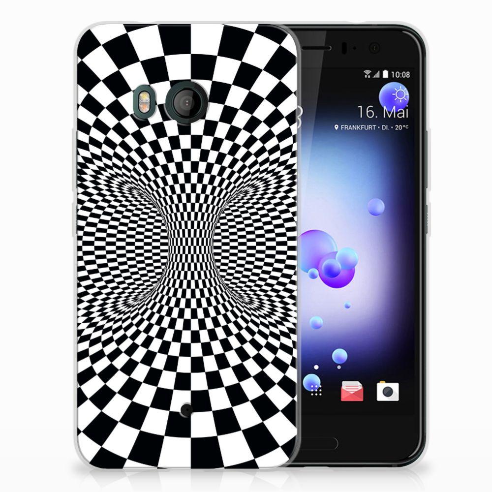 HTC U11 TPU Hoesje Design Illusie