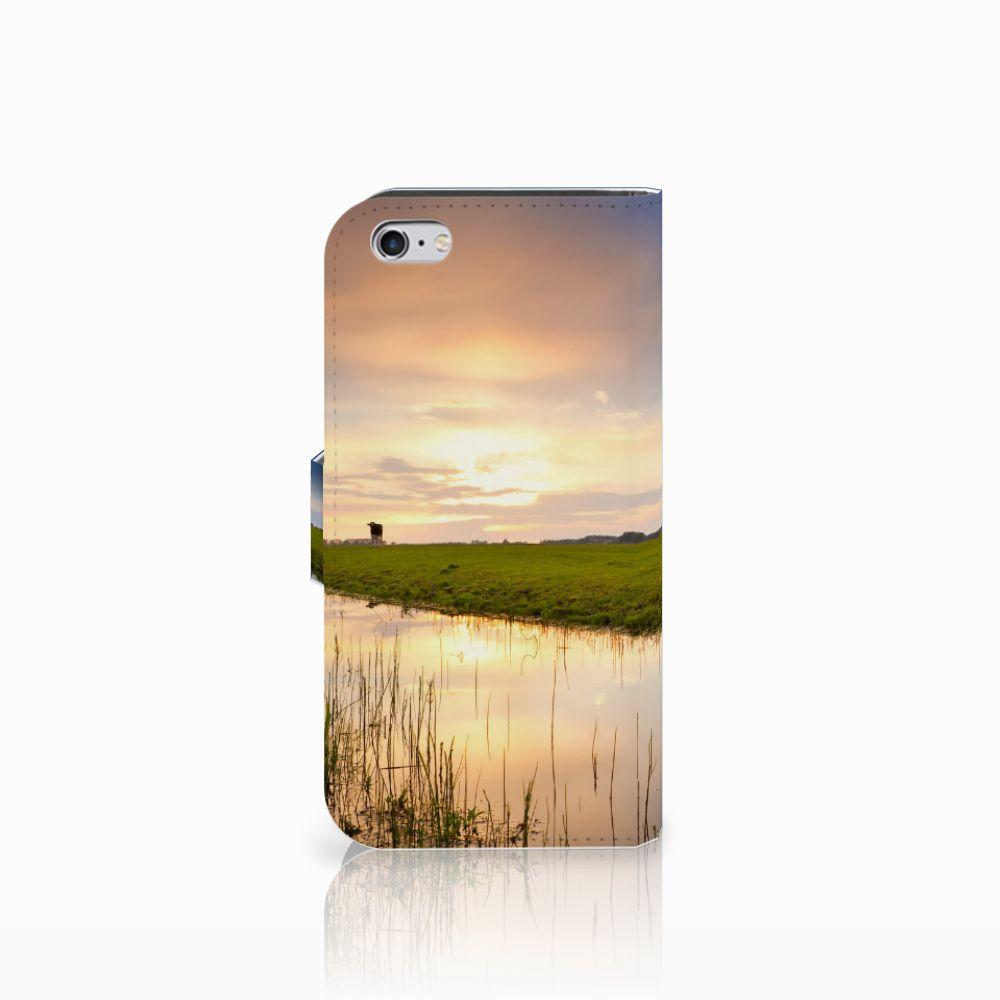 Apple iPhone 6 | 6s Telefoonhoesje met Pasjes Koe