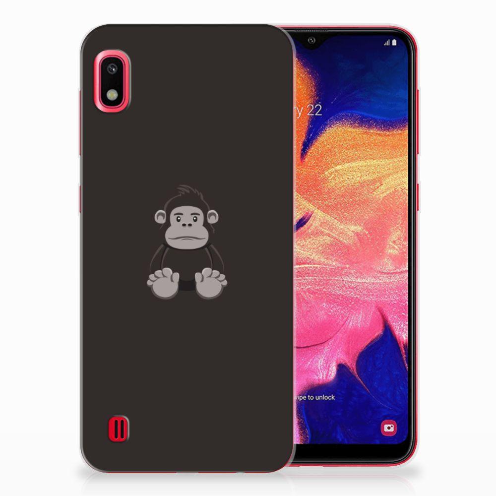 Samsung Galaxy A10 Telefoonhoesje met Naam Gorilla