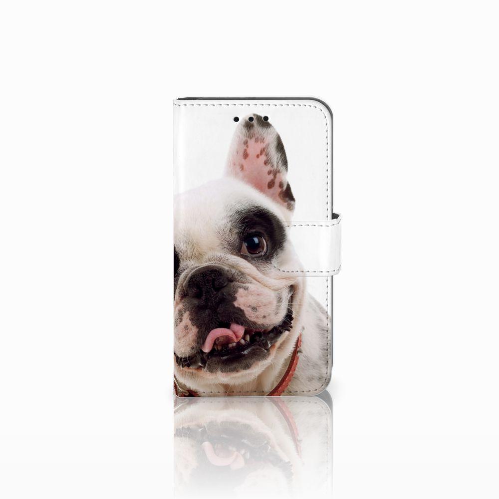 Microsoft Lumia 550 Telefoonhoesje met Pasjes Franse Bulldog