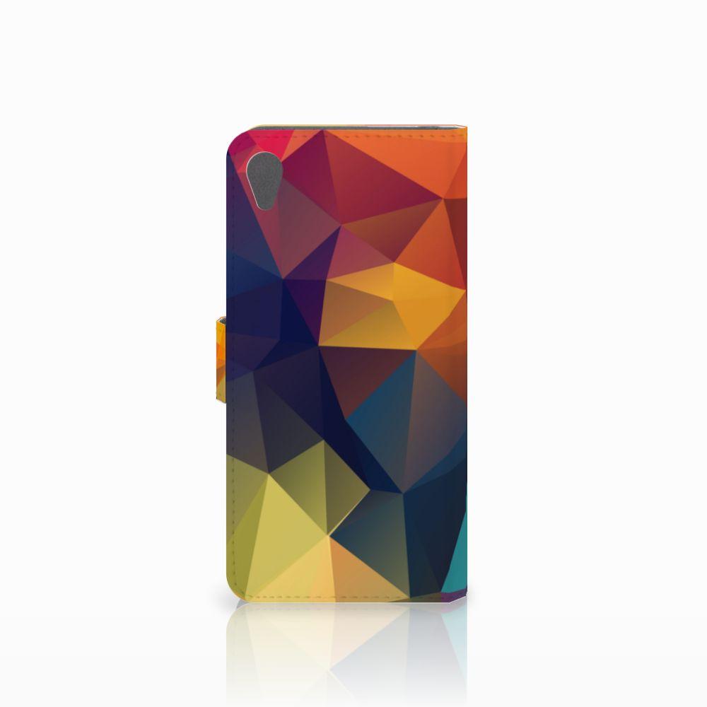 Sony Xperia Z5 Premium Bookcase Polygon Color