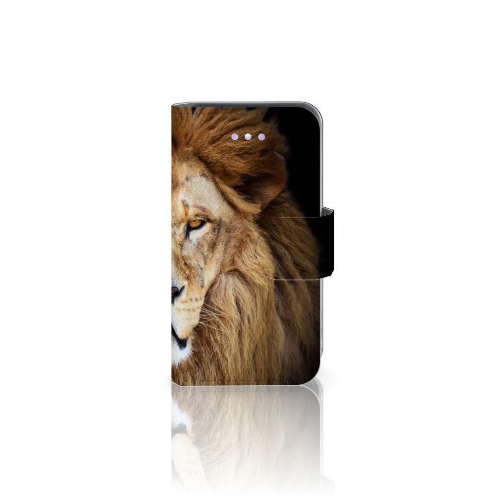 Apple iPhone 4 | 4S Telefoonhoesje met Pasjes Leeuw