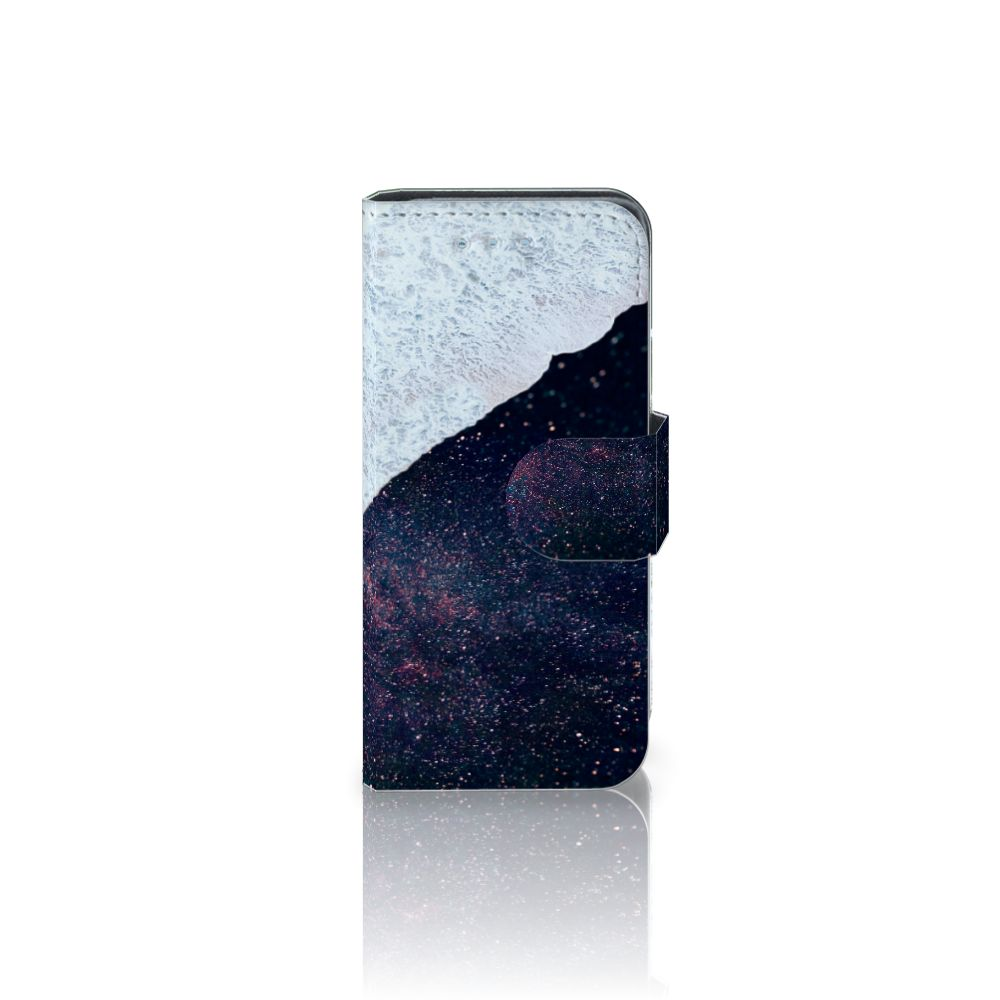 Samsung Galaxy S4 Mini i9190 Boekhoesje Design Sea in Space