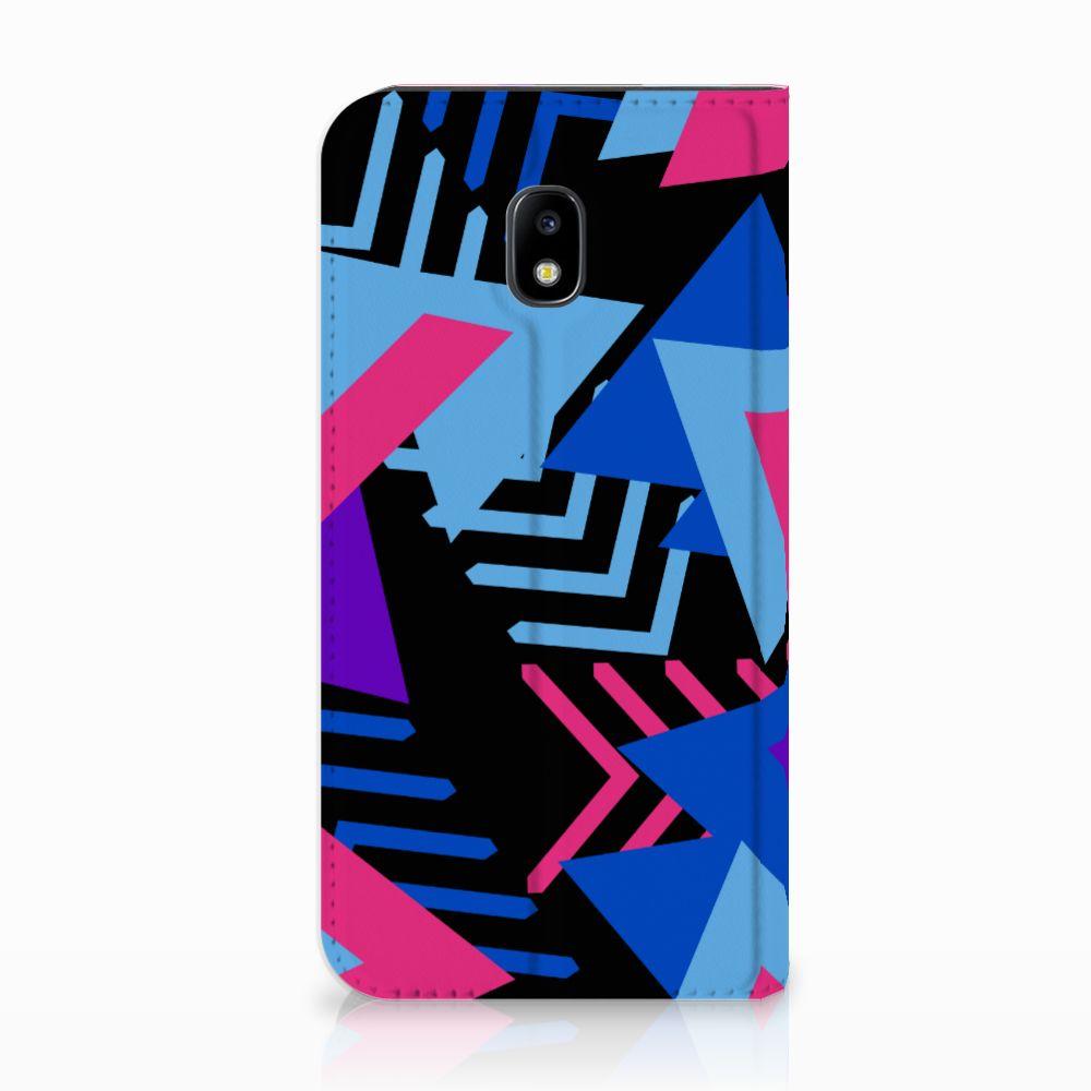 Samsung Galaxy J3 2017 Stand Case Funky Triangle