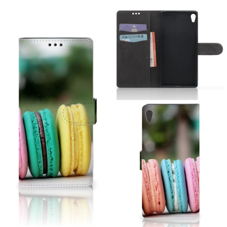 Sony Xperia XA Ultra Book Cover Macarons
