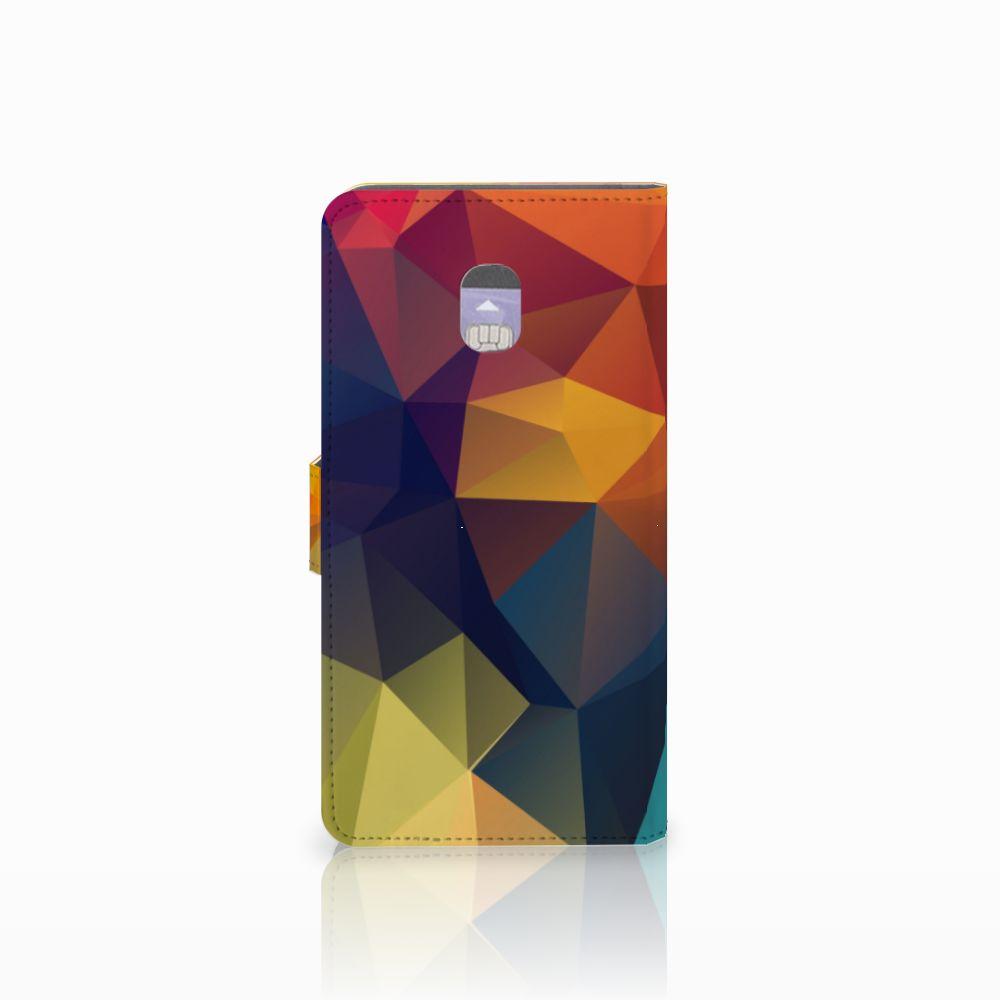 Samsung Galaxy J7 (2018) Bookcase Polygon Color