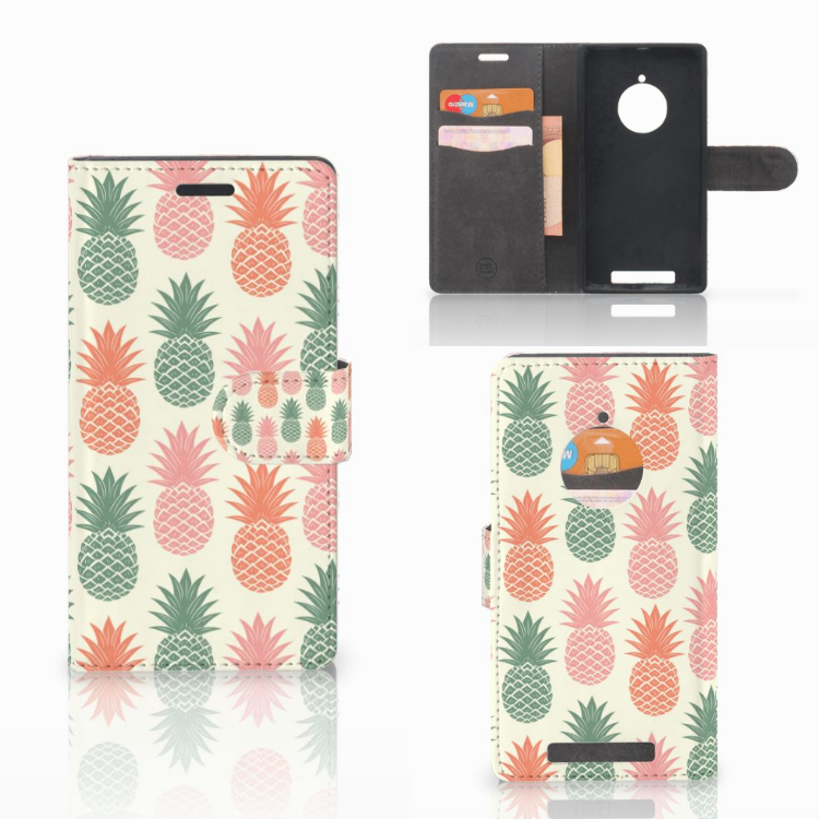 Nokia Lumia 830 Book Cover Ananas
