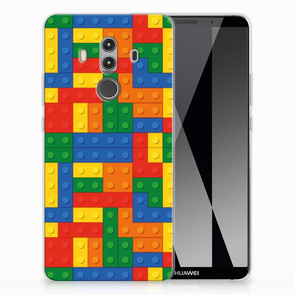 Huawei Mate 10 Pro TPU Hoesje Design Blokken