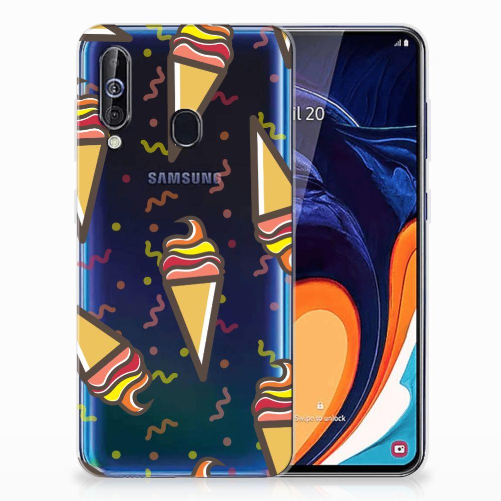 Samsung Galaxy A60 Siliconen Case Icecream