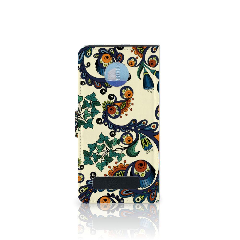 Wallet Case Motorola Moto Z Play Barok Flower
