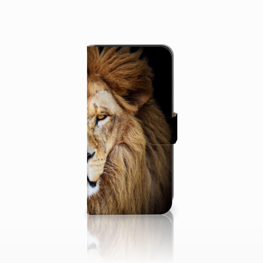 Samsung Galaxy E7 Boekhoesje Design Leeuw