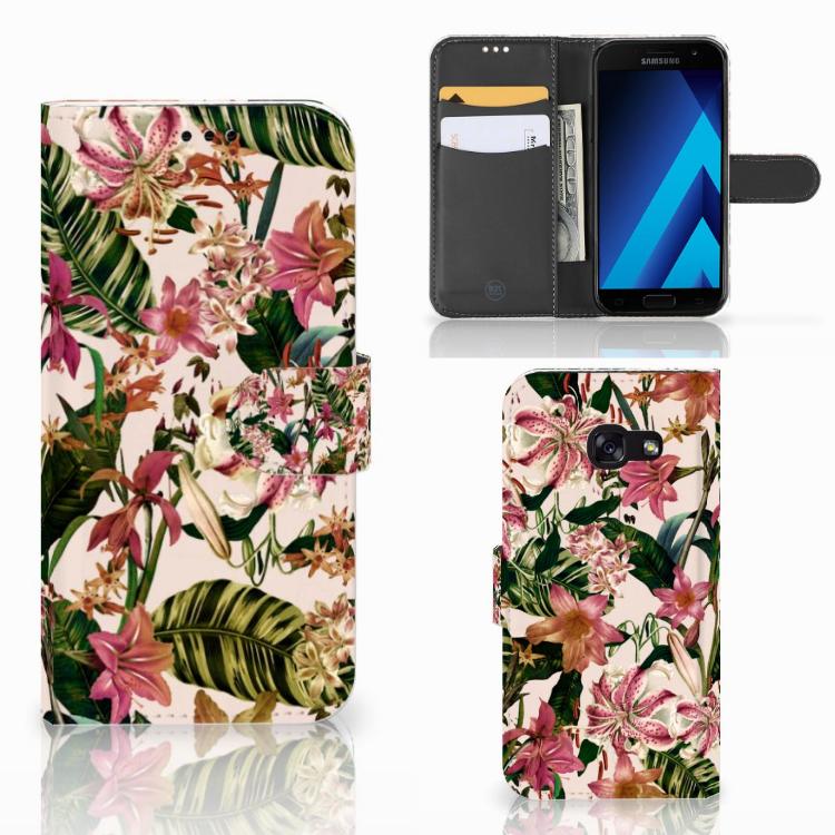 Samsung Galaxy A5 2017 Hoesje Flowers
