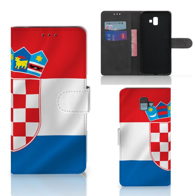 Samsung Galaxy J6 Plus (2018) Bookstyle Case Kroatië