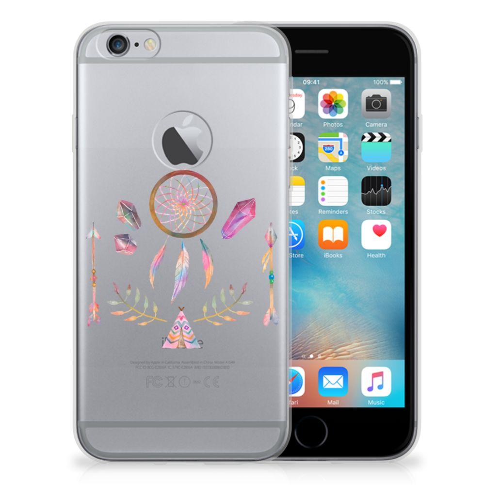 Apple iPhone 6 Plus | 6s Plus Telefoonhoesje met Naam Boho Dreamcatcher