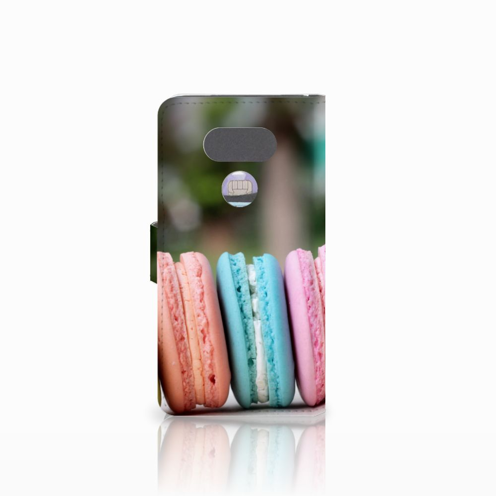 LG G5 Book Cover Macarons