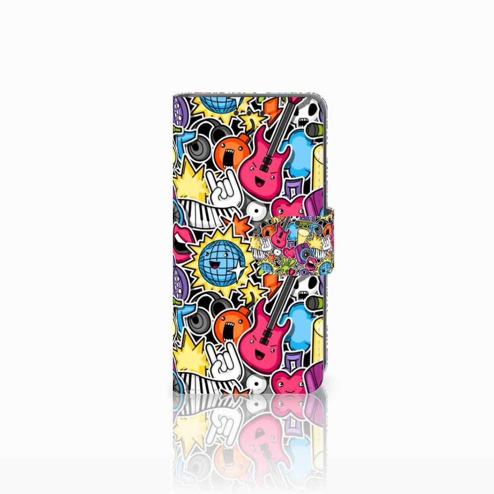 Nokia Lumia 630 Uniek Boekhoesje Punk Rock