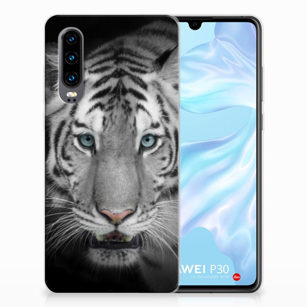 Huawei P30 Uniek TPU Hoesje Tijger
