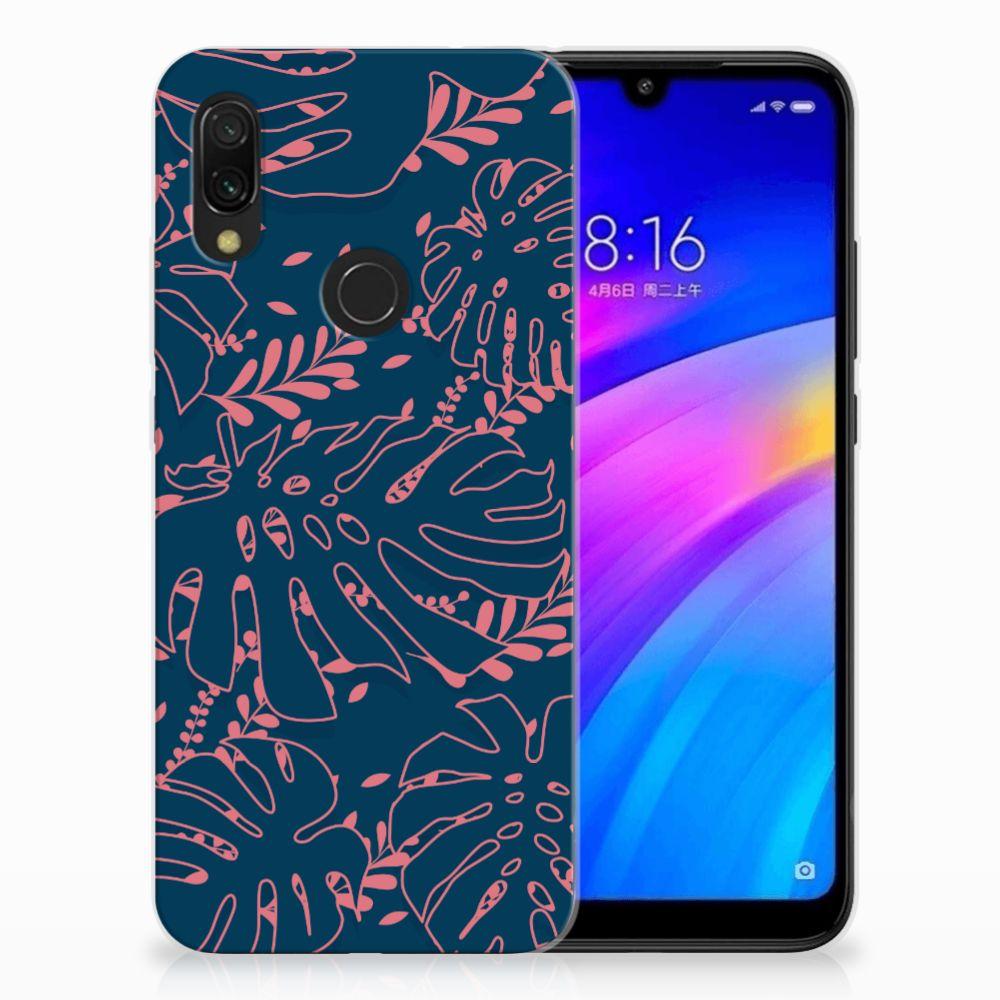Xiaomi Redmi 7 TPU Hoesje Design Palm Leaves