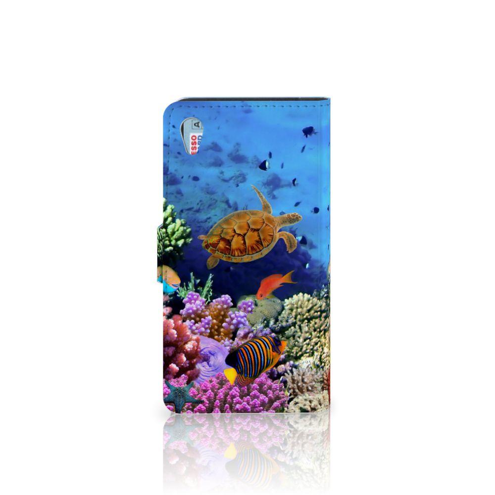 Sony Xperia Z3 Telefoonhoesje met Pasjes Vissen