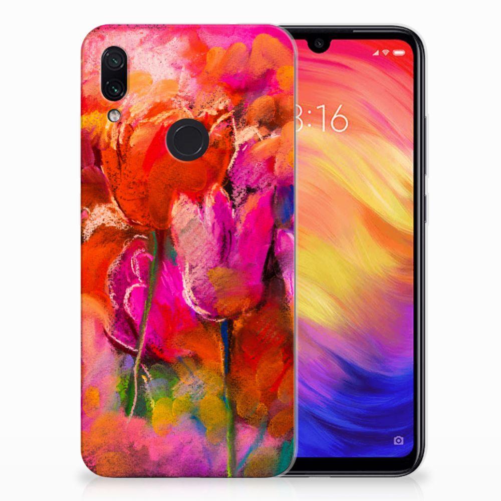 Hoesje maken Xiaomi Redmi Note 7 Tulips